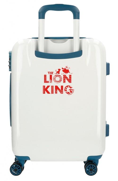 2448762 maleta cabina the lion king azul de 4 ruedas trasera