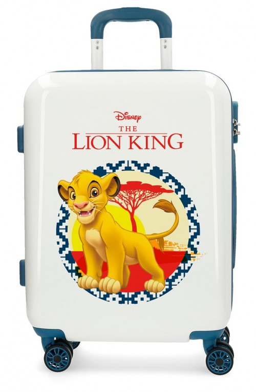 2448762 maleta cabina the lion king azul de 4 ruedas