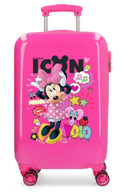 2561461 maleta cabina enjoy minnie icon 4 ruedas