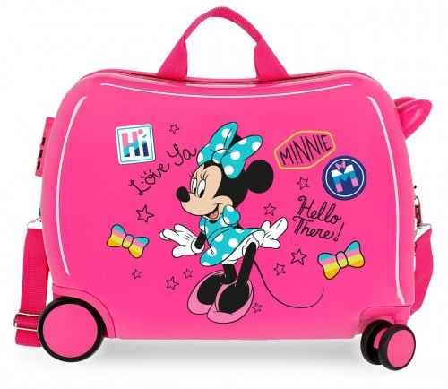 2569862 maleta infantil correpasillos enjoy minnie hi love