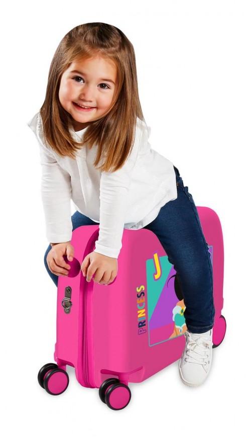 2579831 maleta infantil correpasillos a. princess jasmine  detalle