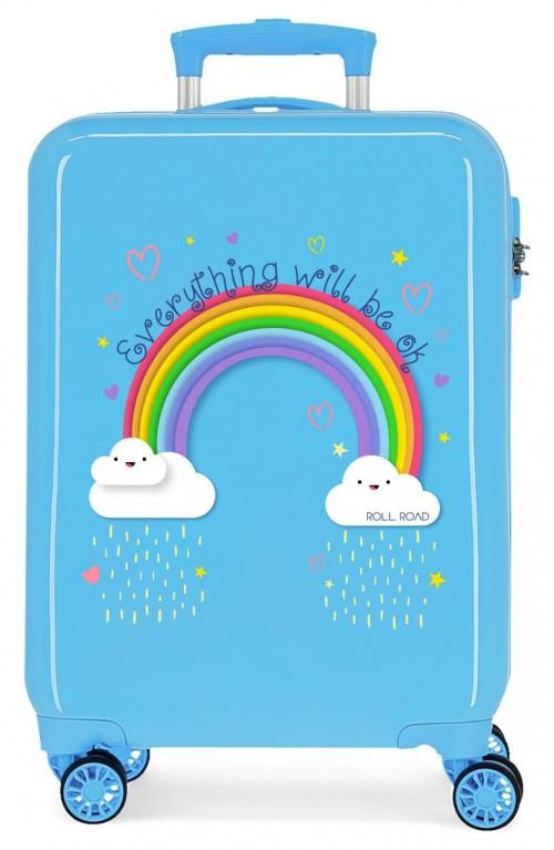 4291721 maleta de cabina Roll Road Arcoiris Everything OK azul