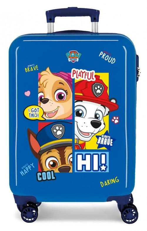4311722 maleta de cabina patrulla canina be happy azul