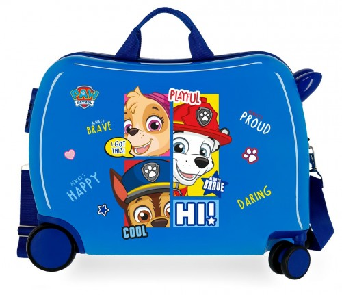 4319822 Maleta Infantil Patrulla Canina Be Happy Azul