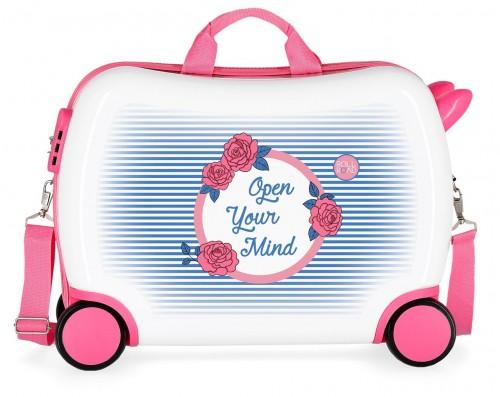 4489961 maleta infantil correpasillos roll road rose