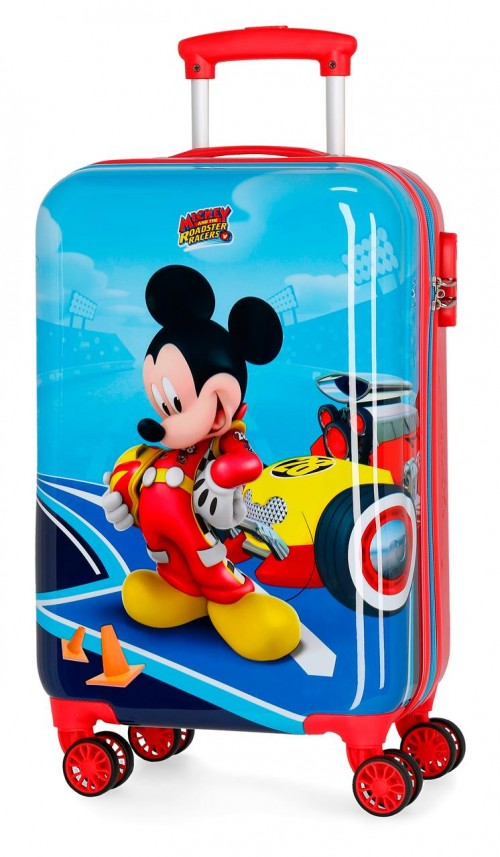 4561461 maleta cabina  Lets Roll Mickey
