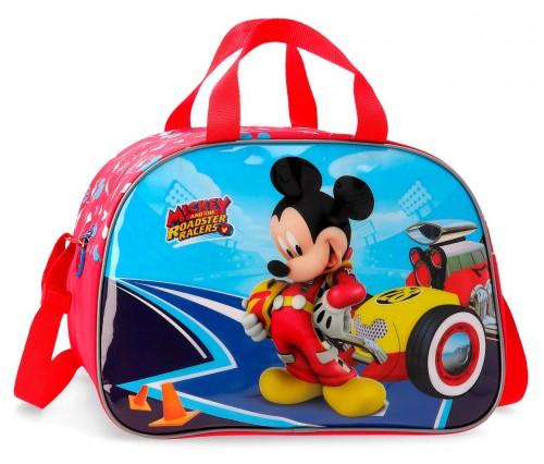 4563261 bolsa de viaje 40 cm lets roll mickey
