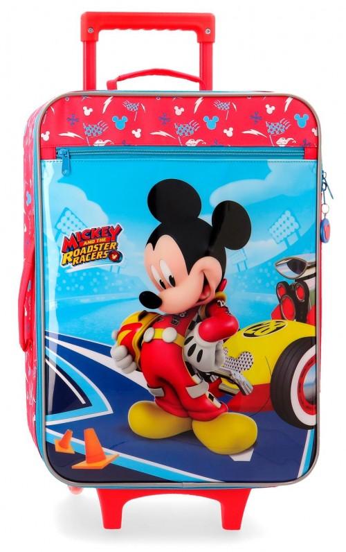 4569061 maleta cabina 2 ruedas lets roll mickey