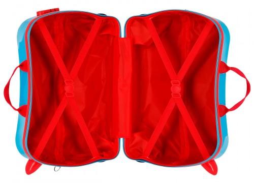 4569961 maleta infantil lets roll mickey 4 ruedas interior