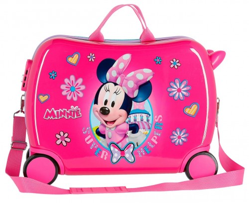 4579961 maleta infantil minnie supper helpers 4 ruedas