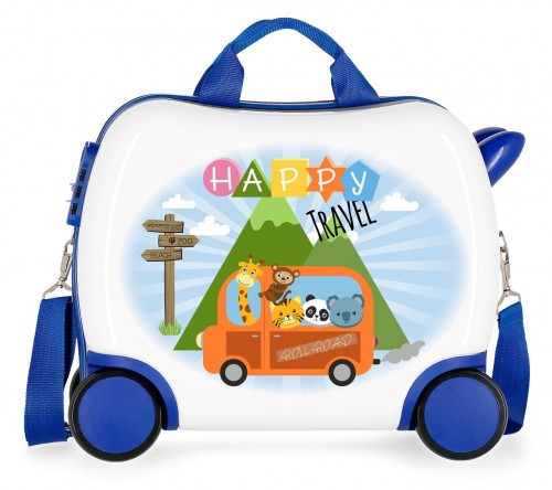 4749961  maleta infantil  roll road little me happy