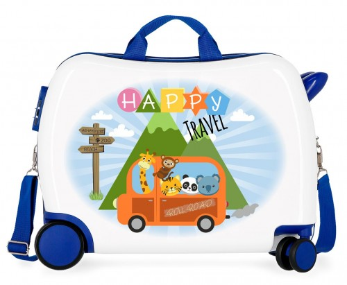 4749861 maleta infantil correpasillos roll road little me happy