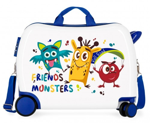 4749862 maleta infantil roll road little me friends