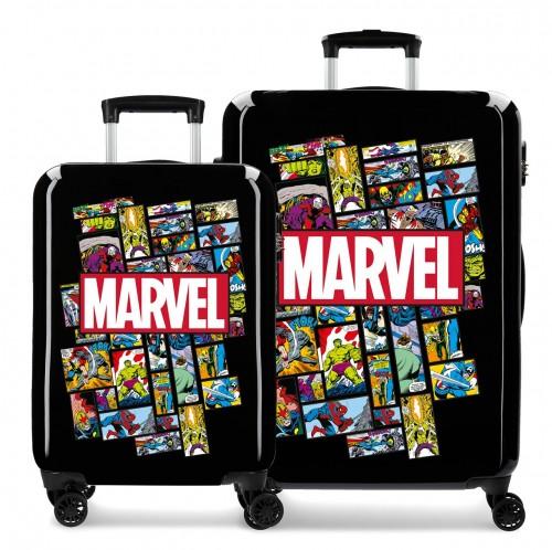 3681962 juego maletas cabina y mediana comic marvel