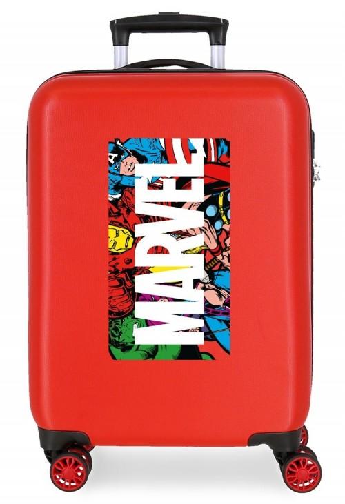 4361721 maleta cabina action marvel rojo