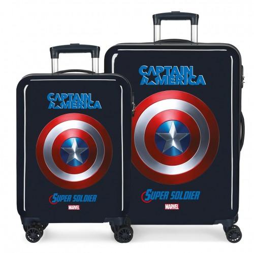 4671963 juego maletas cabina y mediana captain america sky avengers