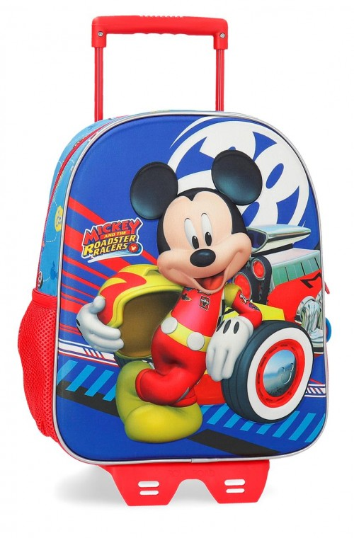 23622N1 mochila 33 cm con carro world mickey