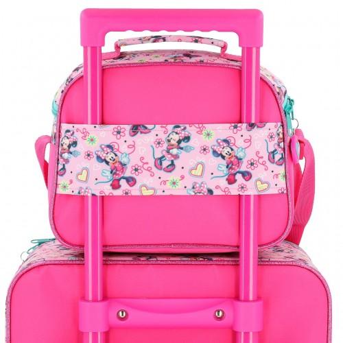 2374861 neceser adaptable con bandolera minnie heart adaptable a trolley