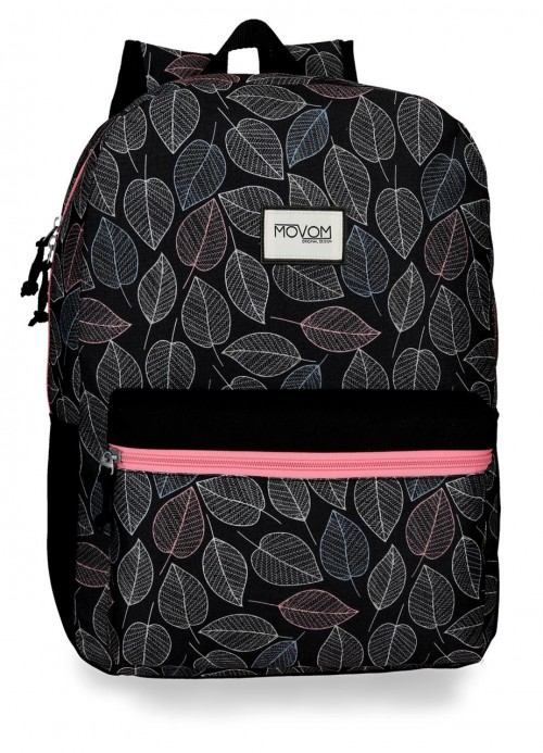 3642361 mochila 42 cm adaptable movom leaves coral