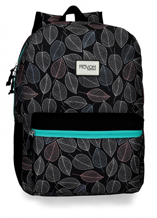 3642362 mochila 42 cm adaptable movom leaves verde