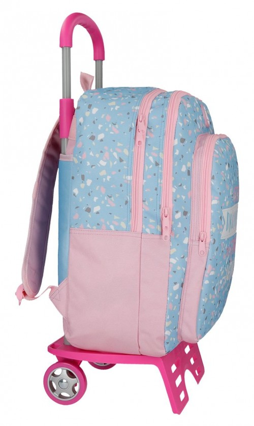45524N1 mochila 42 cm . con carro roll road dreaming lateral