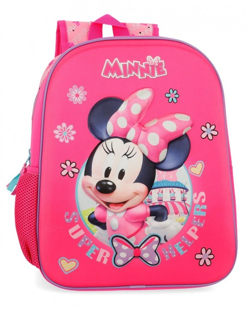 4572261 mochila 33 cm minnie super helpers