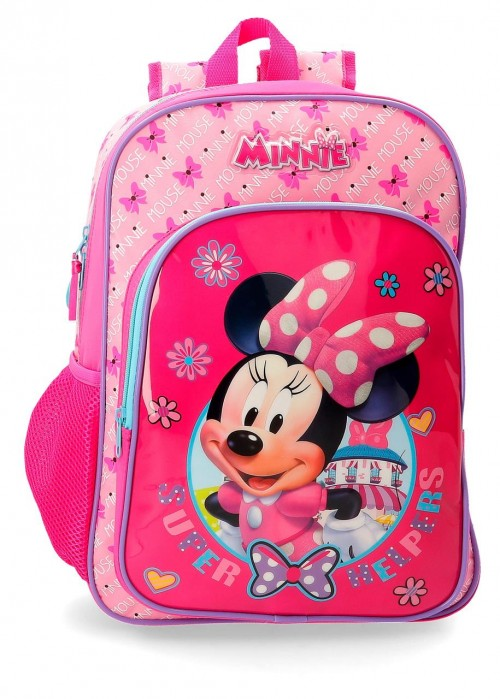 45723B1 mochila 38 cm adaptable minnie super helpers
