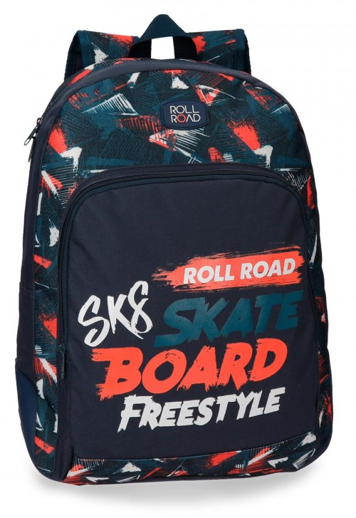 4592561 mochila 44 cm con cantoneras roll road freestyle