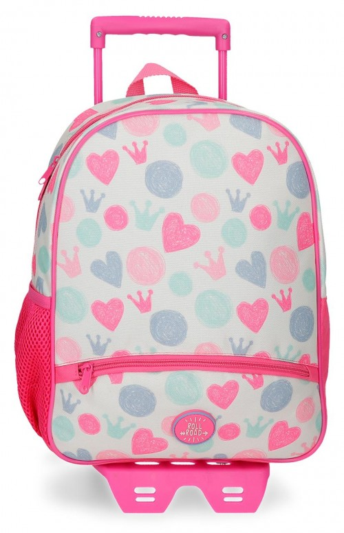 46122N1 mochila 33 cm con carro roll road queen