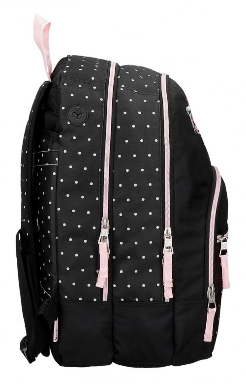 6372461 mochila 44 cm doble pepe jeans armade lateral