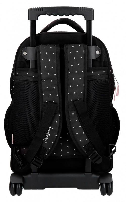 6372961 mochila compacta reforzada pepe jeans armade trasera