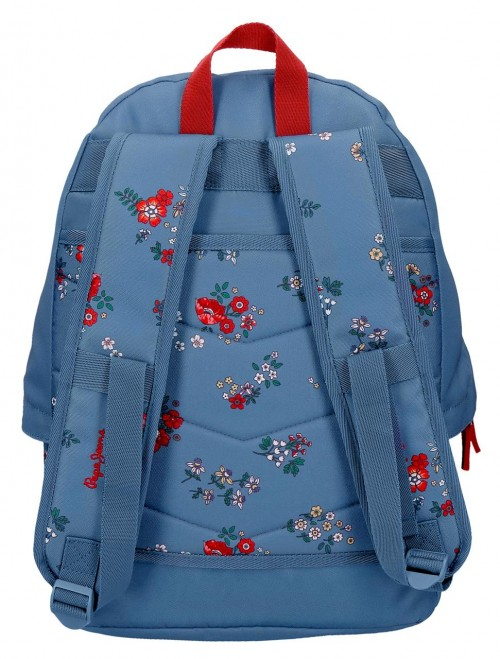 6382361 mochila 42 cm adaptable pepe jeans pam adaptable a carro