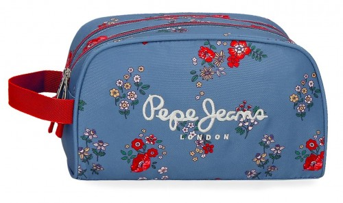 6384461 neceser doble adaptable pepe jeans pam