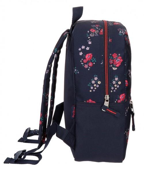 6412161 mochila urbana de paseo 32 cm  pepe jeans daniela lateral