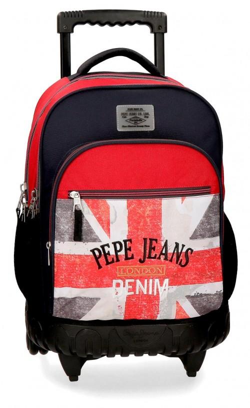 6422961 mochila compacta reforzada pepe jeans calvin