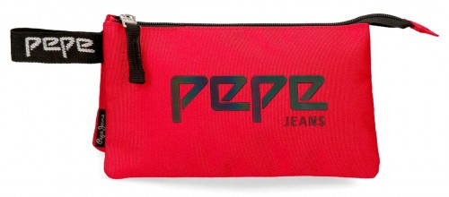 6454363 portatodo triple pepe jeans osset rojo