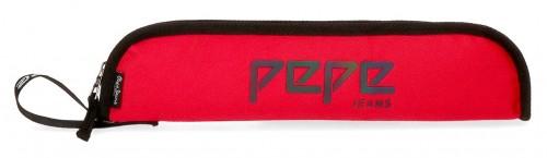 6456763  portaflautas pepe jeans osset rojo