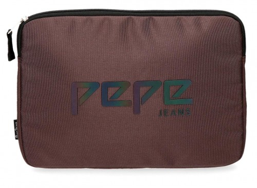 "6456864 porta tablet hasta 12"" pepe jeans osset marrón"