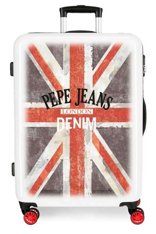 6524261 maleta mediana pepe jeans world denim