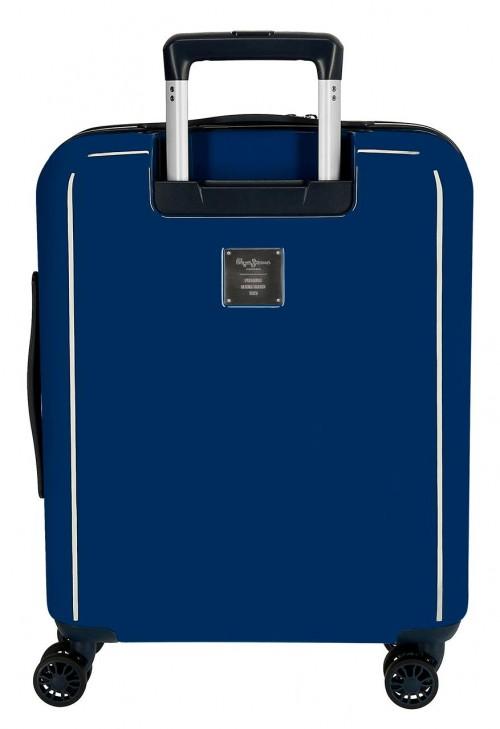 6533161 maleta de cabina pepe jeans taking off marino   trasera
