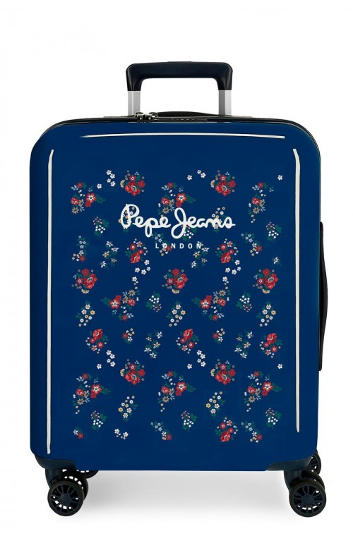 6534161 maleta cabina pepe jeans taking off azul
