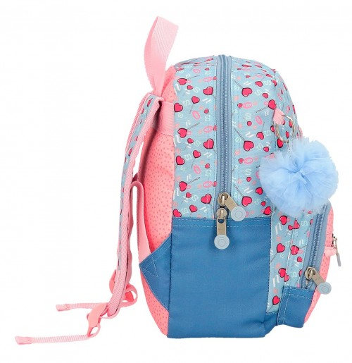 9232061 mochila 28 cm enso love sweets lateral