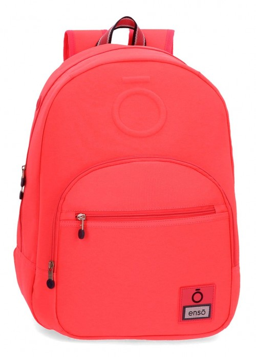 9242363 mochila 46 cm adaptable enso basic  coral