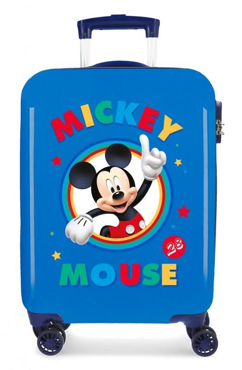 2031721 maleta cabina circle mickey azul