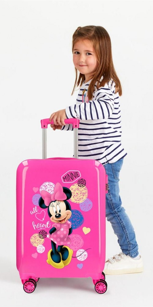2051721 maleta cabina disney - love minnie detalle
