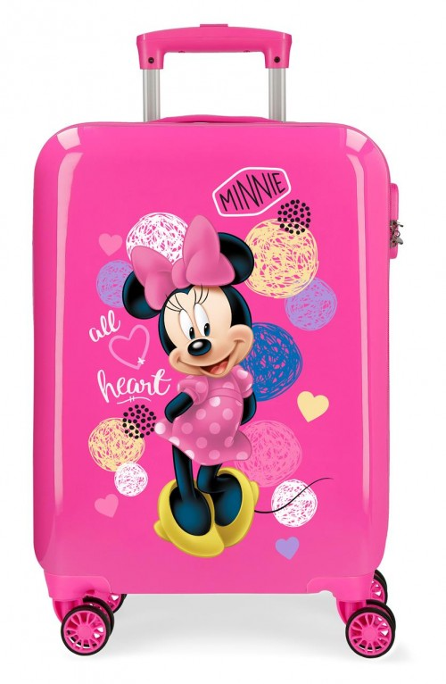 2051721 maleta cabina disney - love minnie