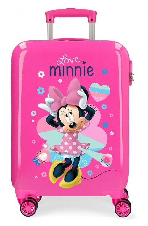 2051722 maleta infantil love minnie