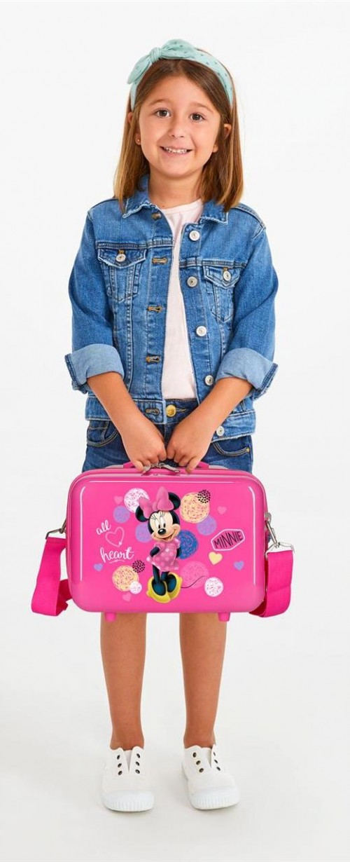 2053921 neceser adaptable a trolley love minnie detalle