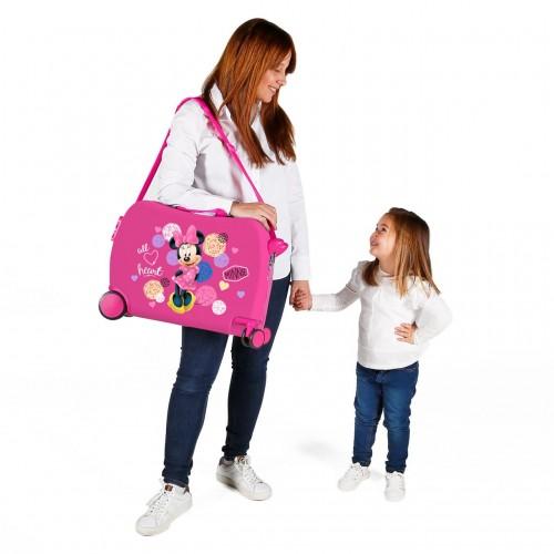 2059821 maleta infantil correpasillos love minnie
