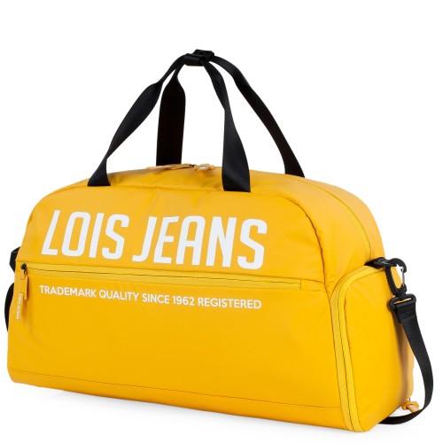 30705003   bolsa de viaje 52 cm lois delta en amarillo